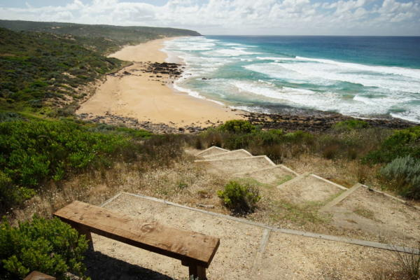 Bench at Waitpinga
