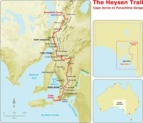 HEYSEN TRAIL MAP (640×553)
