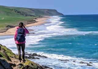 Overlooking Tunkalilla Beach